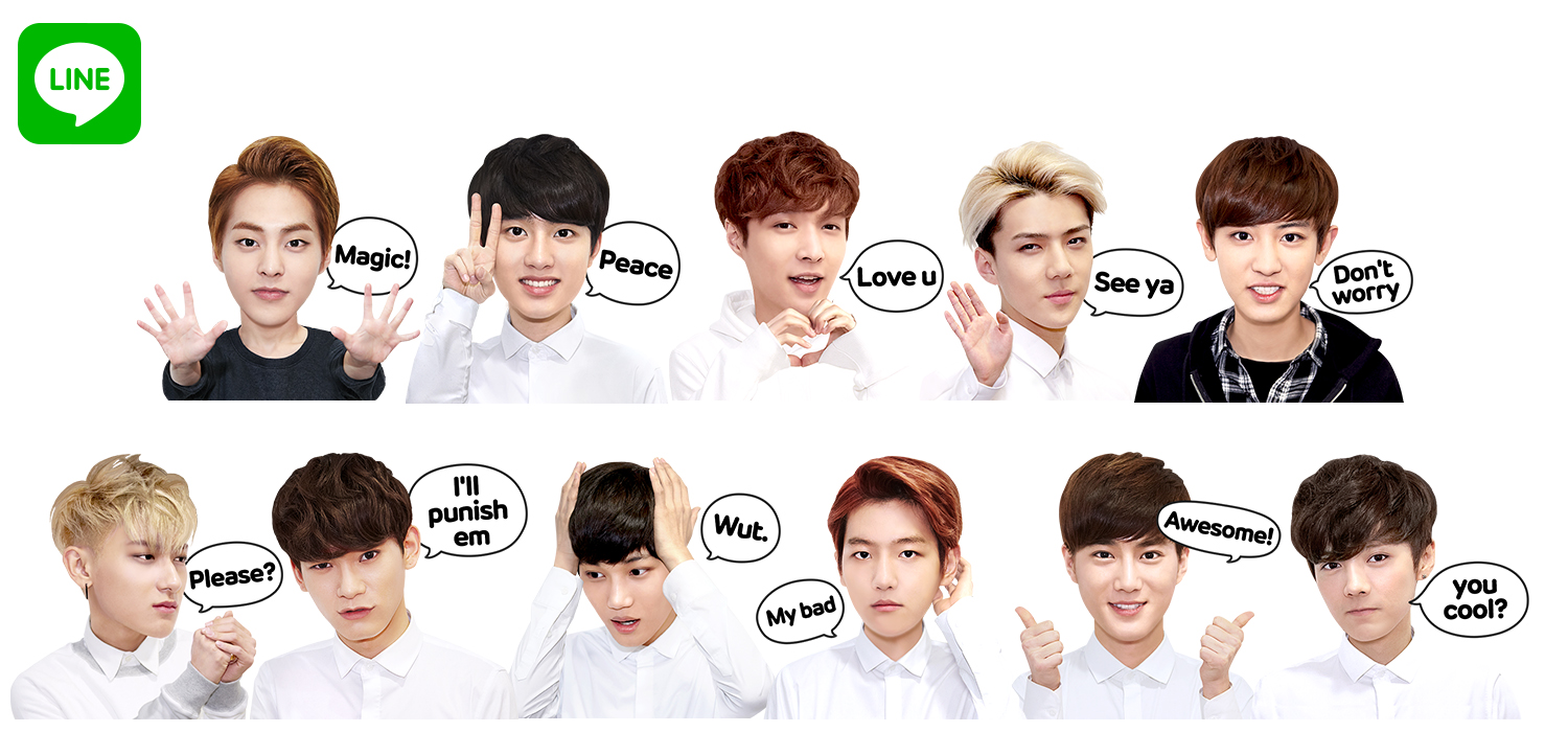 News Line Releases Exclusive Exo Overdose Stickers For Free