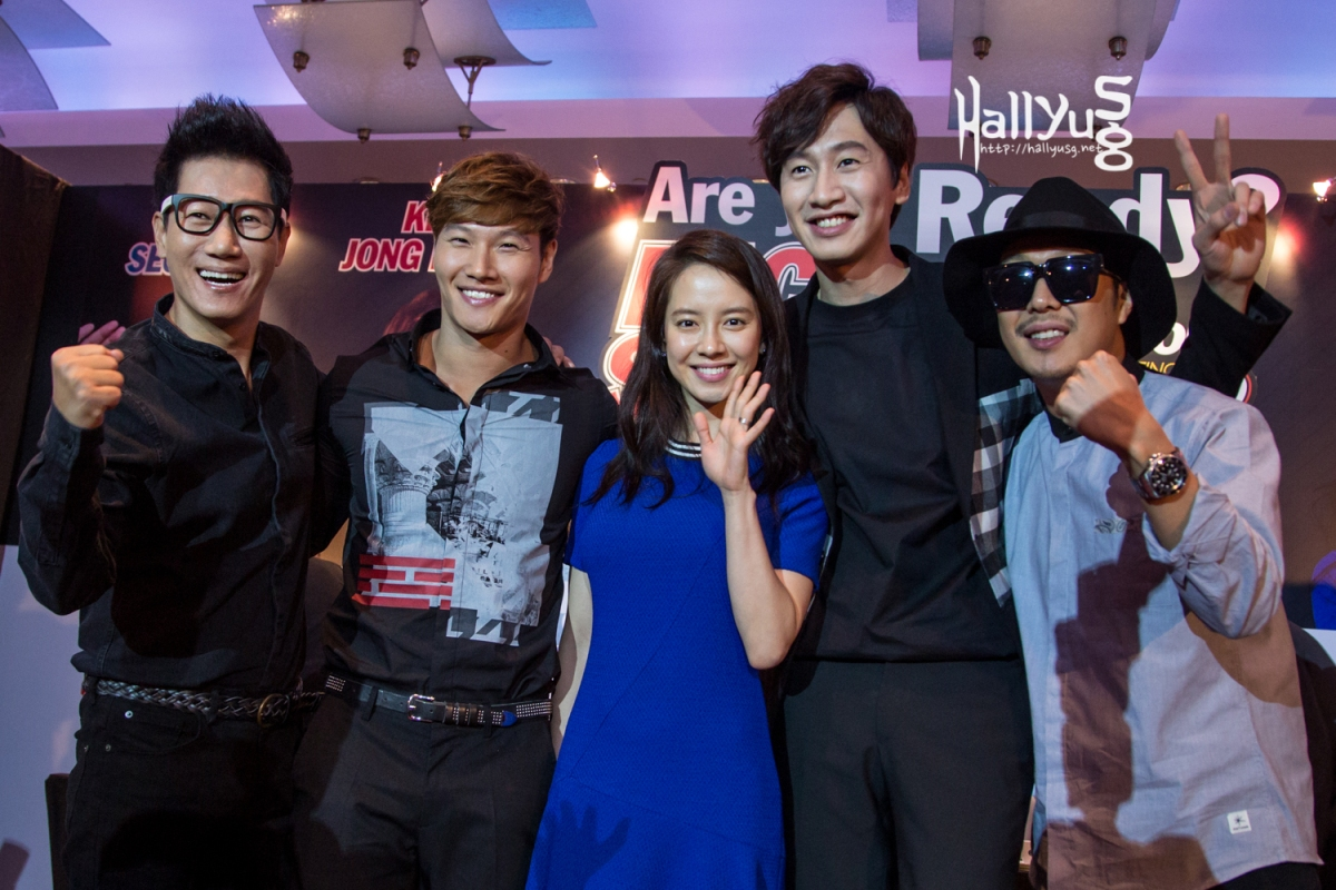 [COVER] Running Man cast charms audience at Race Start Season 2 press conference in Singapore