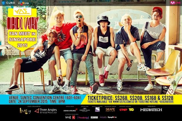 BEAST FM SG Poster